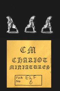 Chariot Miniatures 15mm Fantasy ELF6 Elven Thieves (x 3)